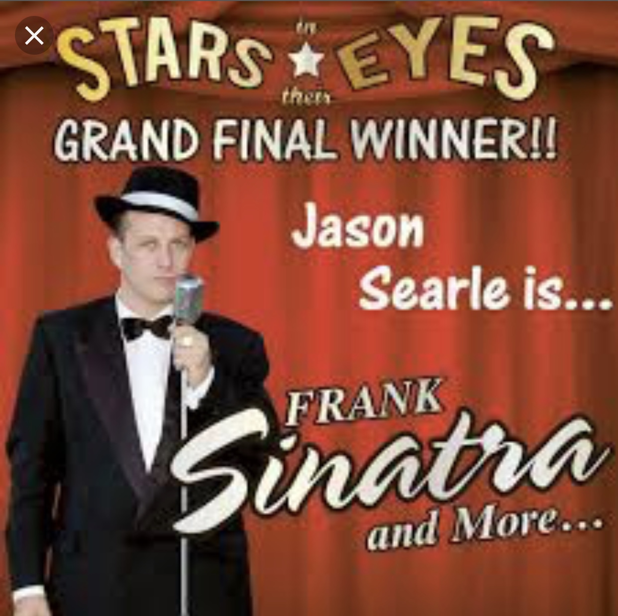 Stars in Their Eyes Winner Jason Searle